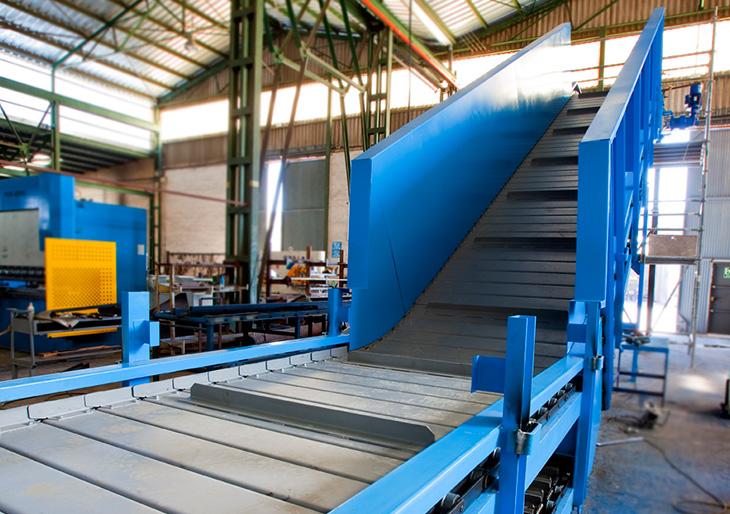 Transportador de tauletes metàl·liques