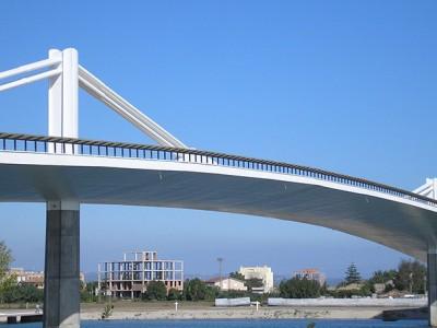 Brückengeländer Sant Jaume-Brücke – Deltebre